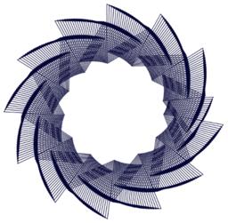 Dreiecks-Rotations-Muster