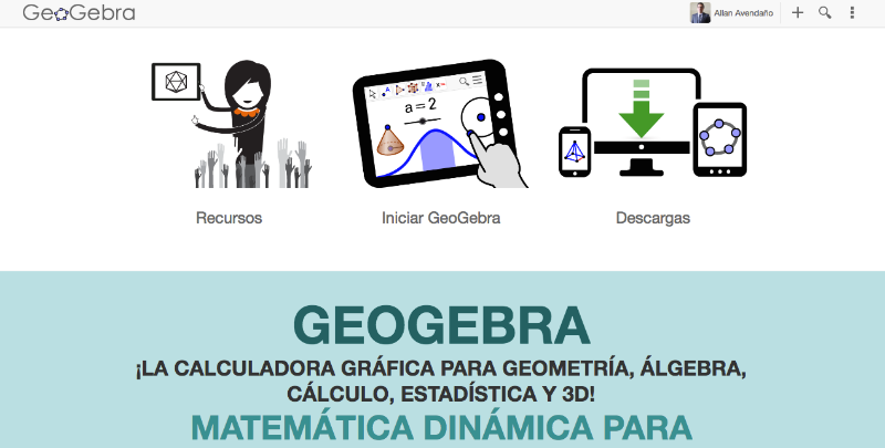 Iniciar GeoGebra