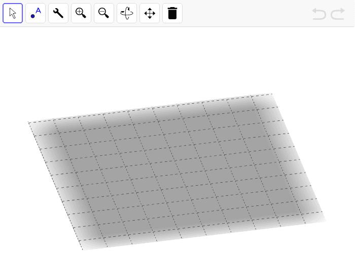 Usa la herramienta cubizador para crear cubos a partir de un punto. ¡Crea todos los que quieras! Luego puedes apilarlos, combinarlos... Presiona Intro para comenzar la actividad