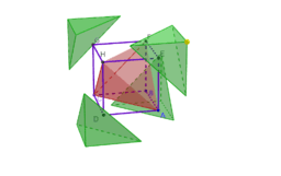 Cube and Tetrahedron