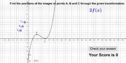 Graph transformation game - find the image