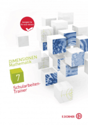 Dimensionen Mathematik 7 Schularbeiten-Trainer Demoversion