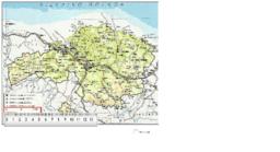 Bizkaiko mapa