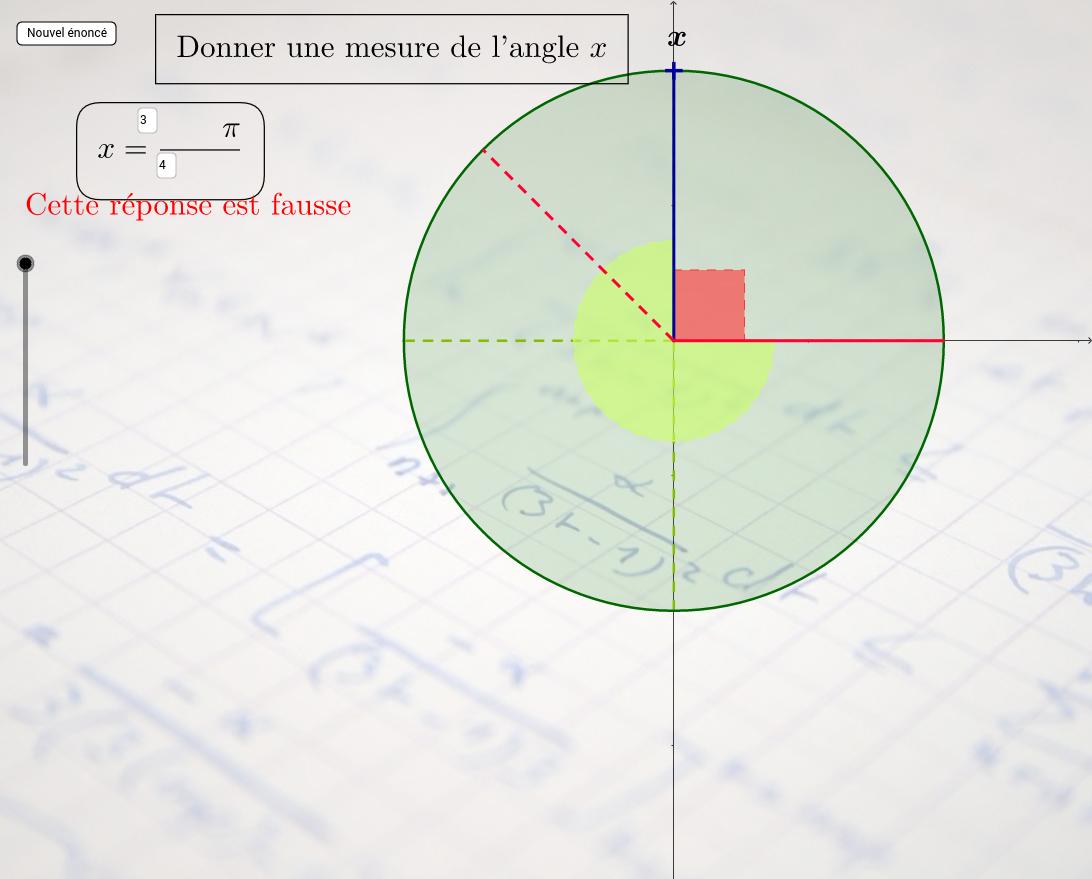 Lecture sur le Cercle trigonométrique