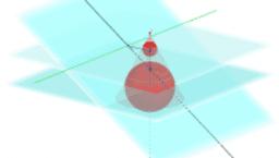 Dandelinsche Kugeln 3D: Kegelschnitt - Ellipse