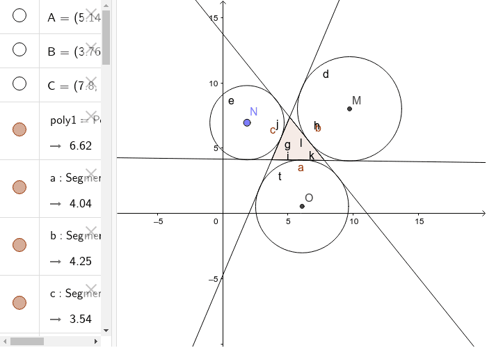 Excircles of A Triangle