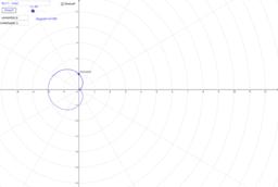 Simulador de áreas coordenadas polares