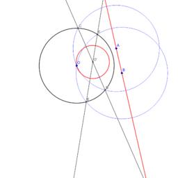 Exercise 37.8 - Circular inversion: line transform
