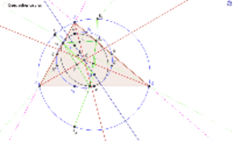 Ellipse d'Euler et centre du cercle d'Euler
