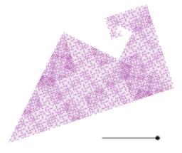 Bird-like Fractal Curve