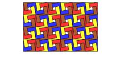 Pythagorean Tessellation # 135 Tiling