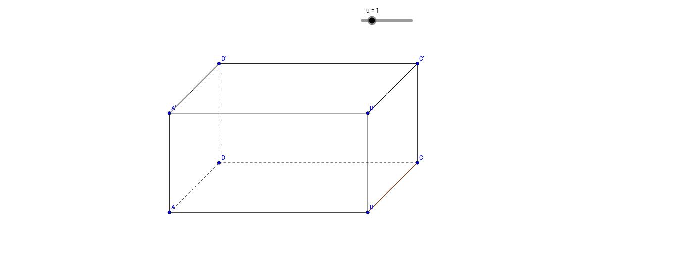 Exercice 2.1 - Géométrie dans l'espace