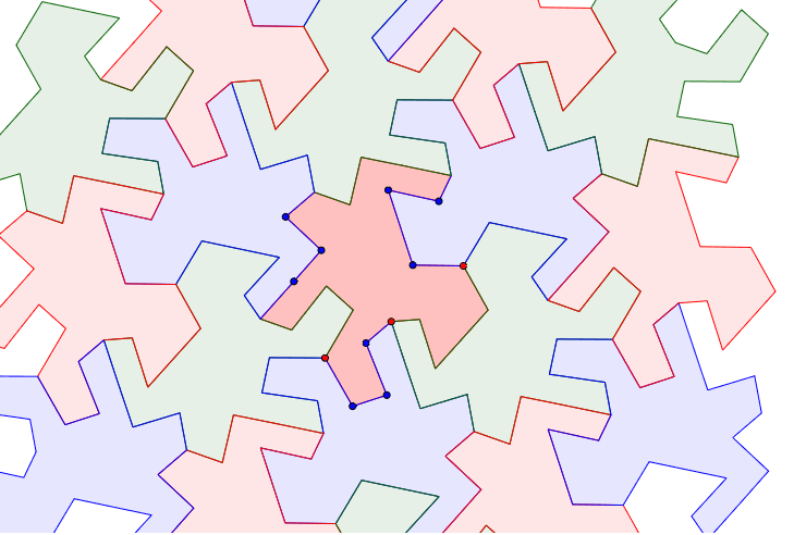 Escherized Tessellation Press Enter to start activity