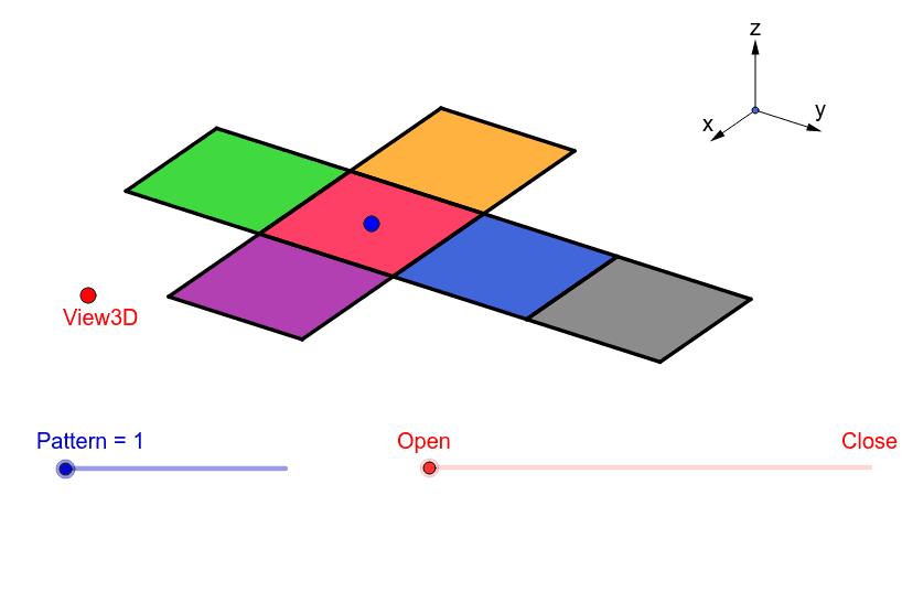 Net of a Cube Press Enter to start activity
