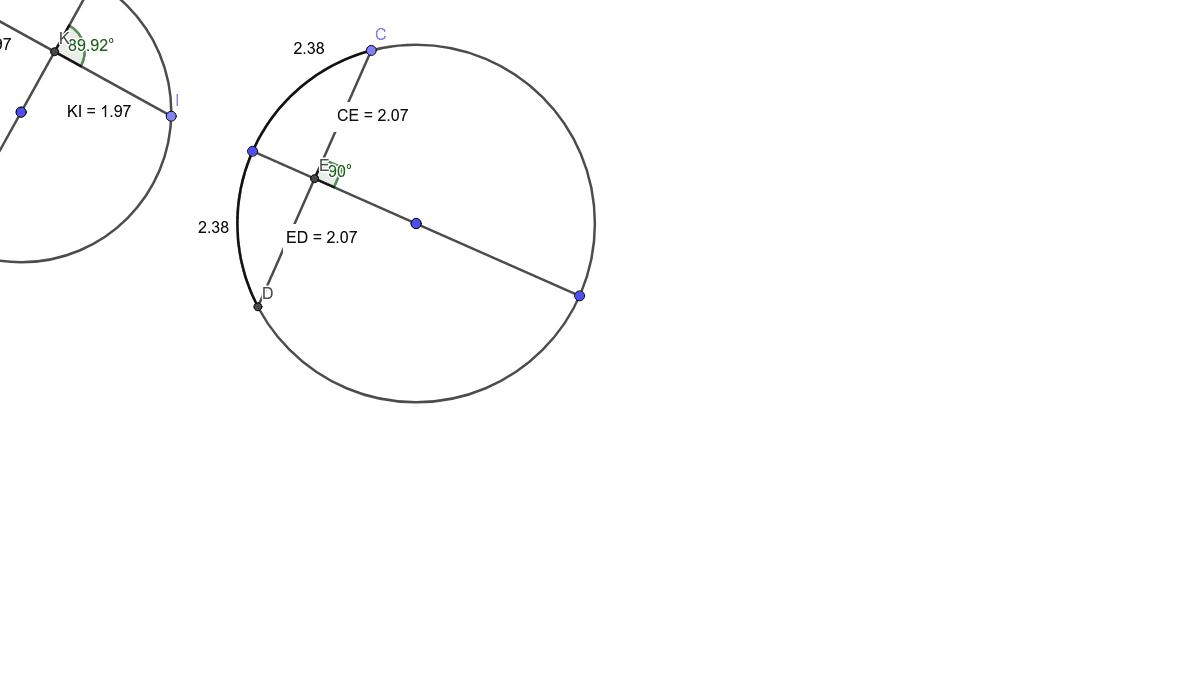 Diameter and Chord Properties