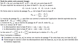 Matrices de passage