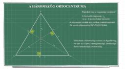 a háromszög nevezetes pontjai