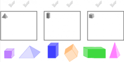 Geometric Solids: Recognize, Name and Sort