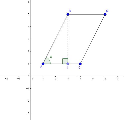 Considere S como a área do paralelogramo ABCD.