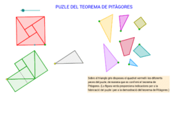 Puzle del teorema de Pitàgores de 7 peces