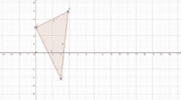 Rotating a triangle in a coordinate plane