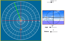 Polar coordinates (boat game)
