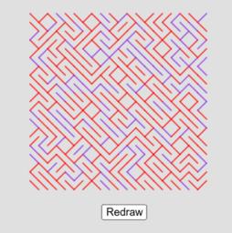 Random labyrinths
