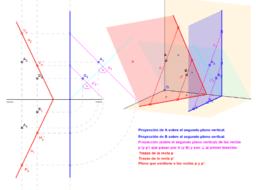 DT2.Diedrico. Paralelismo y perpendicularidad. Problema 04.