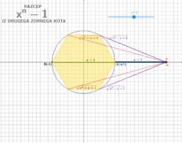 GEO RAZCEP x^n-1