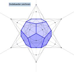 Dodekaeder zeichnen