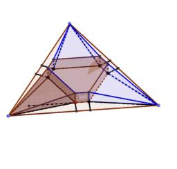 折り紙テント正三角形用紙