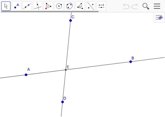 Creating Parallel Lines on Geogebra Press Enter to start activity