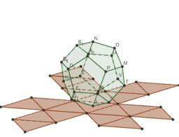 icosaedro y su dual