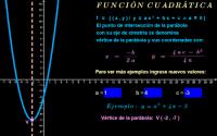 Función cuadrática ( vértice )