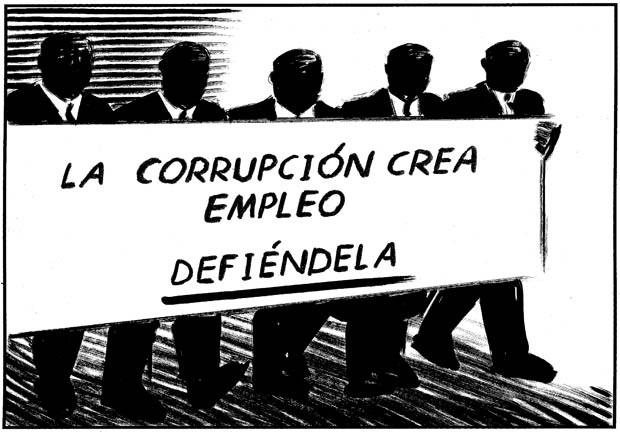 El Roto - Corrupción (El País)