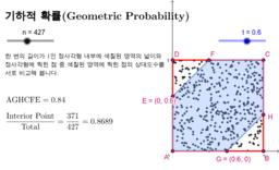 기하적 확률(Geometric Probability)