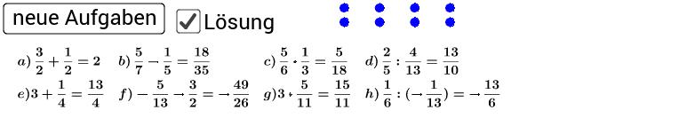 Niveau II - Entferne zum Üben den Haken (Lösung).