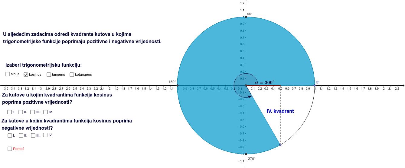 Vrijednosti trigonom. funkcija - izradili: studenti