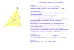 Baricentro triangolo franza