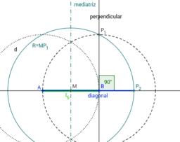 De lado a diagonal áurea del pentágono regular