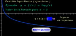 Función logarítmica base 1/2 ( ejercicios )