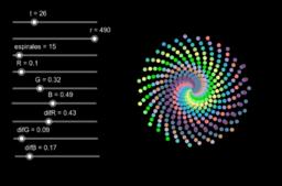 Rotation Logo XI (dots I)
