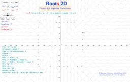 4.Roots Nullstellenbefehle-Plotter für implizite Funktionen