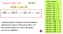 Integer Factors of Square Roots