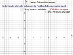 Monotoniesatz vs. Definition von strenger Monotonie