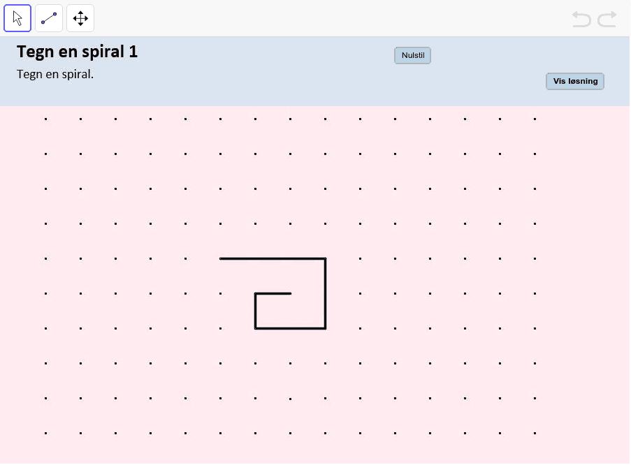 Tegn en spiral 1