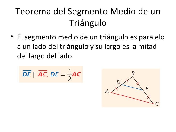 Excepcional Hoja Teorema De Segmento Medio Imágenes - hojas de ...