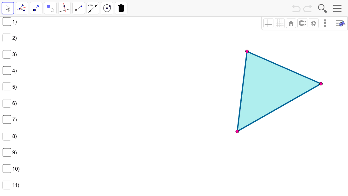 Investigating Angle Bisectors in Triangles Press Enter to start activity