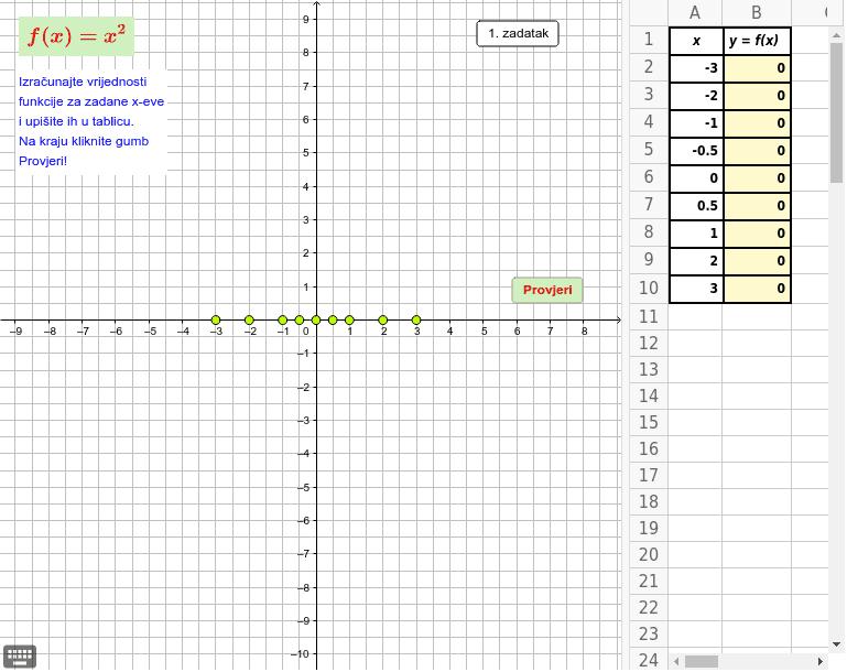 GeoGebra Applet Pritisnite Enter kako bi započeli aktivnost