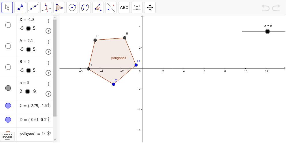 Polígono de varios lados